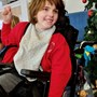 Beautiful lady with a beautiful smile- loved the school Christmas excitement. ????????