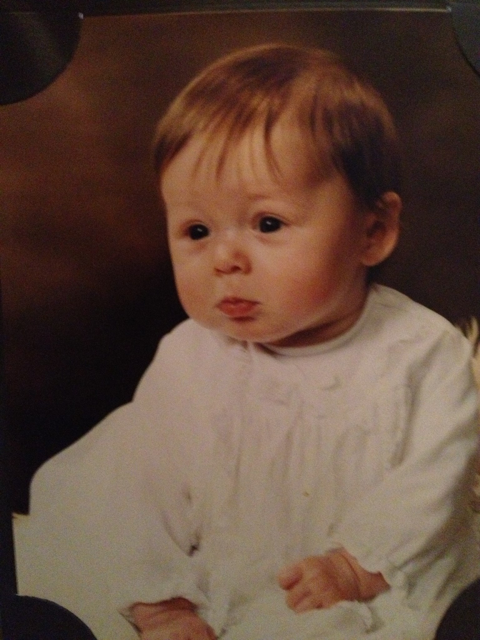 Kate as a baby 1985