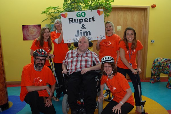 James with H&D House fundraising team
