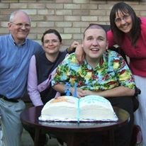James 21st Birthday with Dad, Dawn & Mum. xxx