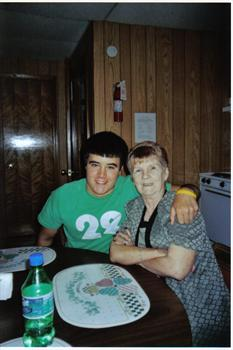 AARON AND MOTHER ON MOTHERS DAY