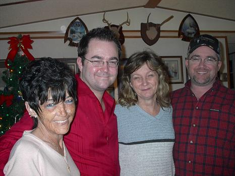 CHARLOTTE AND MARK AND DONNA AND BILLY POWELL