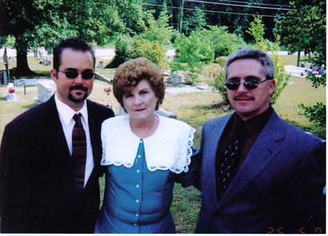 Mark and Mother and Billy
