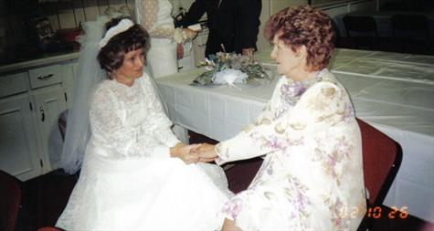 MOTHER AND DONNA WITH THAT VERY SPECIAL MOMENT