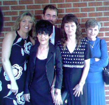 TRACY, MARK, CHARLOTTE, DONNA AND MOTHER
