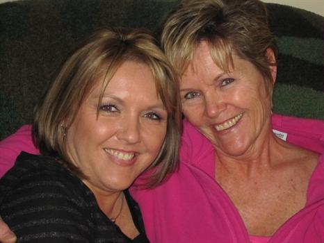 Becky Powell and Tracy Merlin