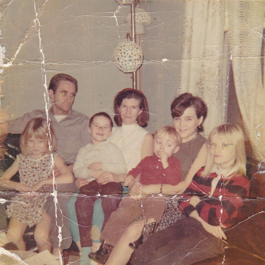 Mother and Daddy ,Charlotte, Donna, Danny, Becky ,Billy Powell
