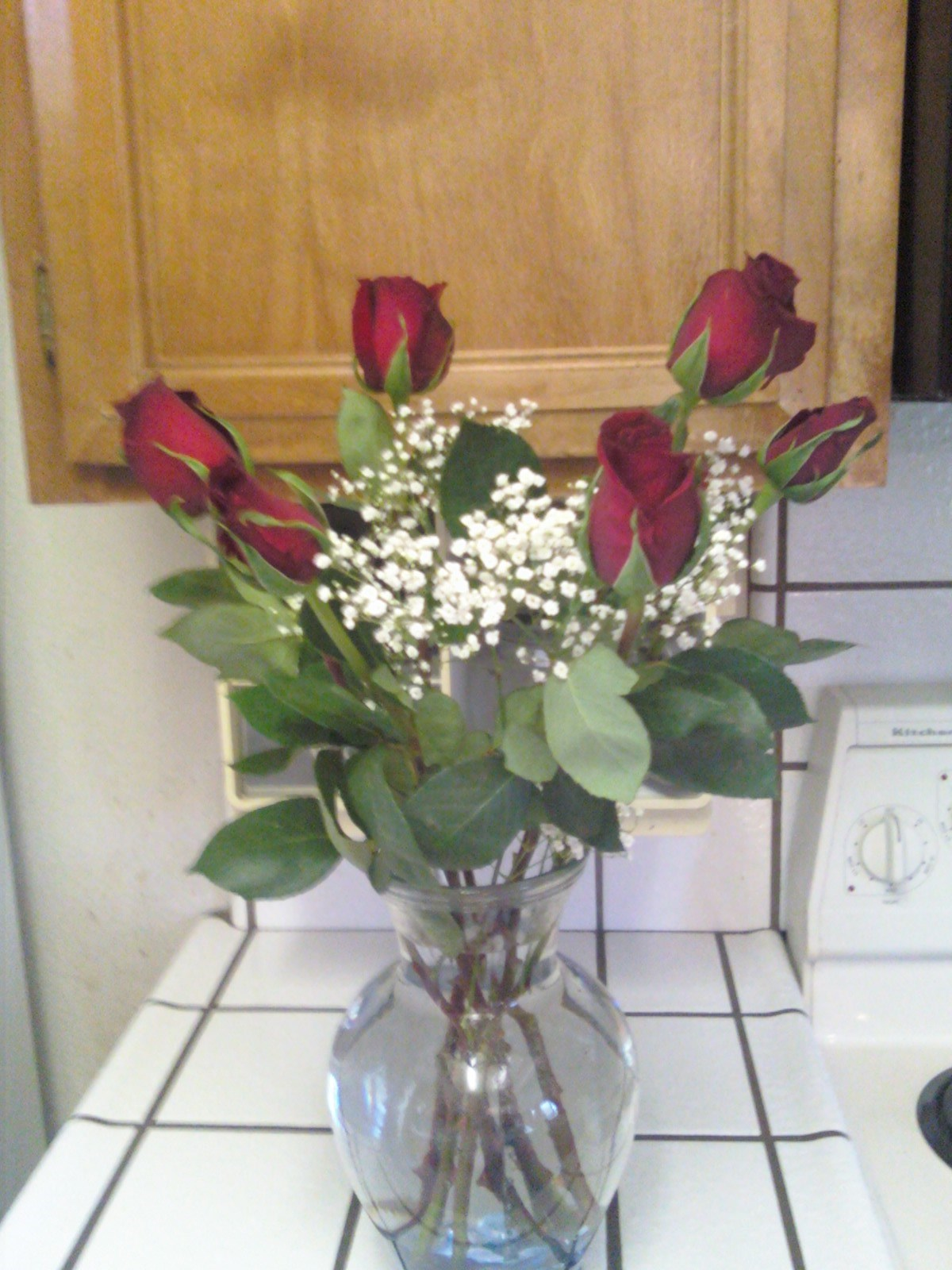 Happy Birthday Mother the red roses you love