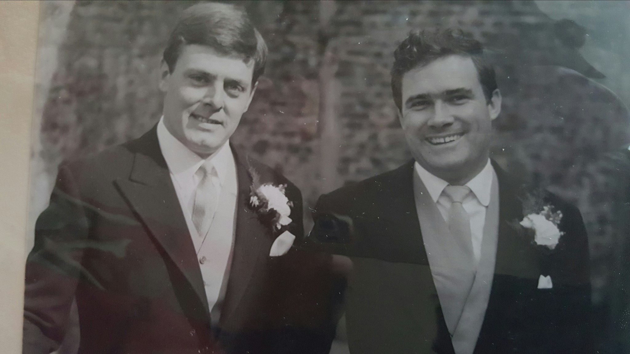 John & Heather Rowe's Wedding day with dad as best man 31st March 1966