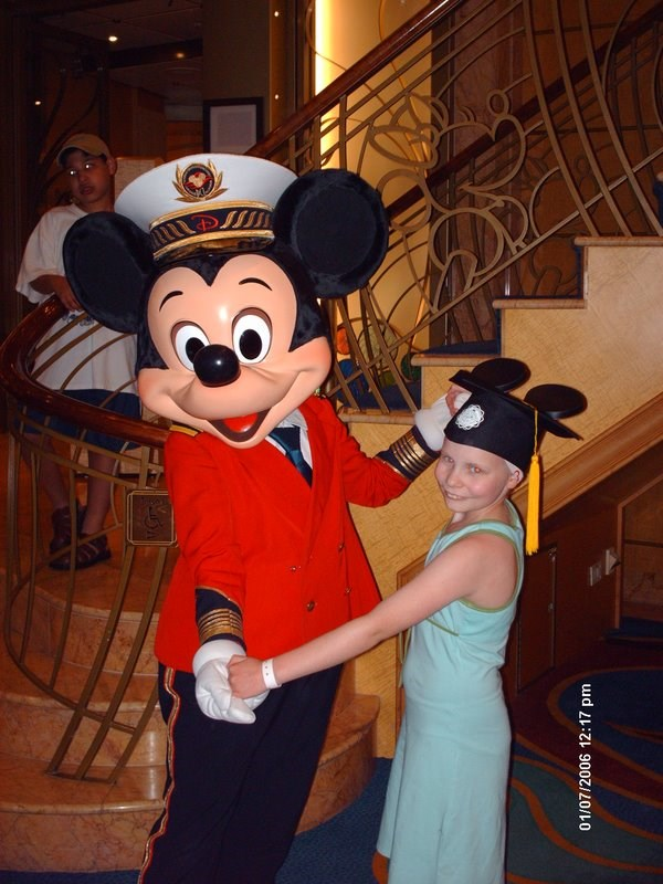 On board ship - Micky and Olivia