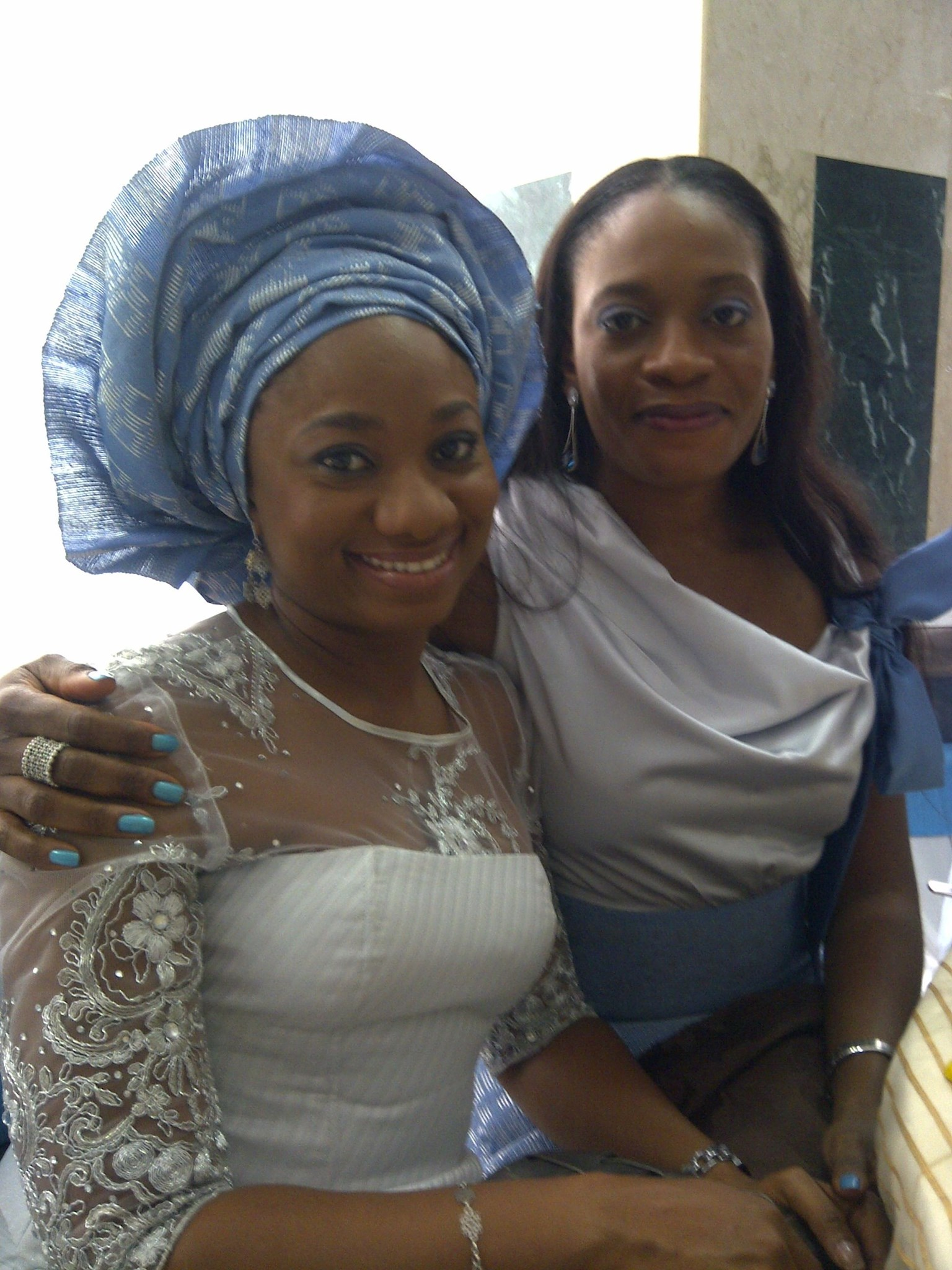 At Alaba's wedding