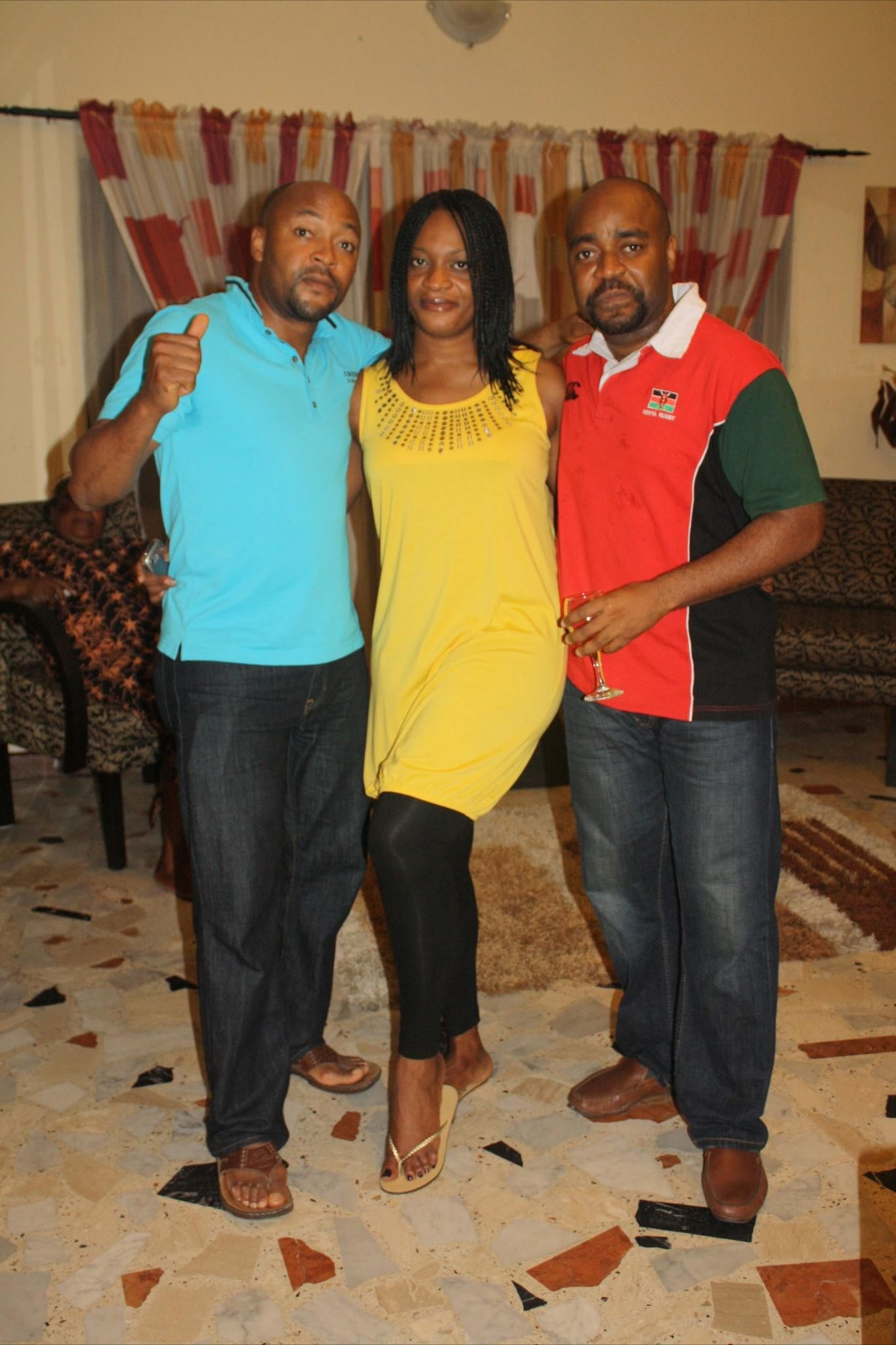 Ijeoma with her Ikazoboh brothers