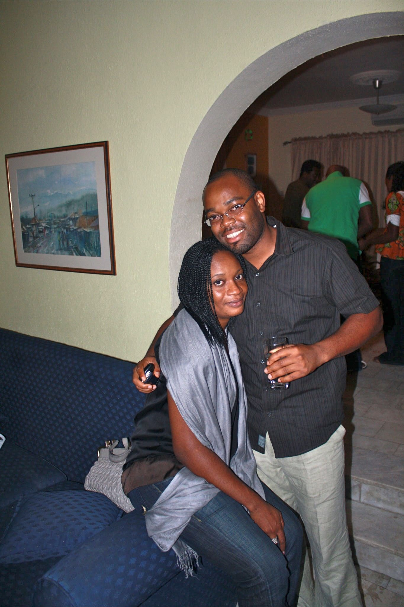 Ijeoma and her 3rd Ikazoboh brother