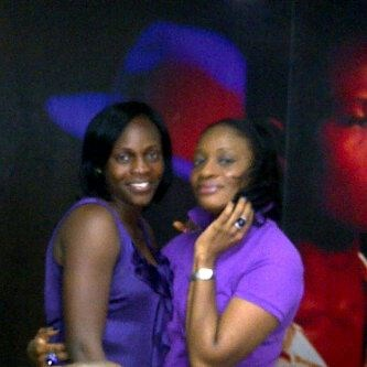 Aunty Ijeoma and her colleague on children's day