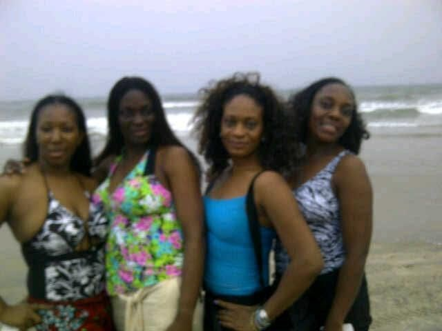 With The Ladies in Ghana