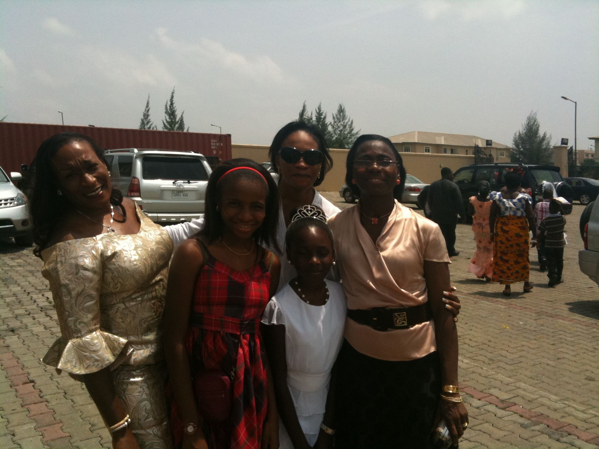 My Aunt IJ @ my Communion