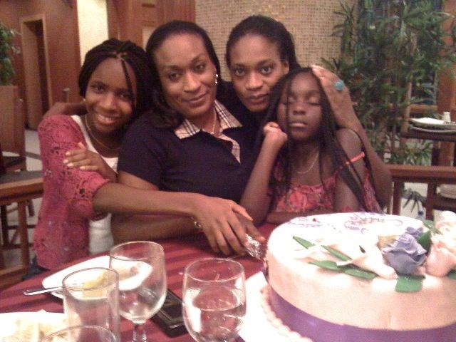 Ijeoma Mum and us