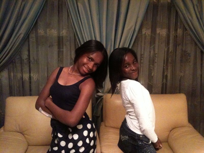 Ij's girls Adaeze & Natachi