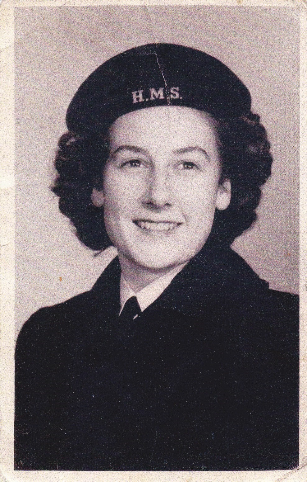 Eileen in the Navy aged 19