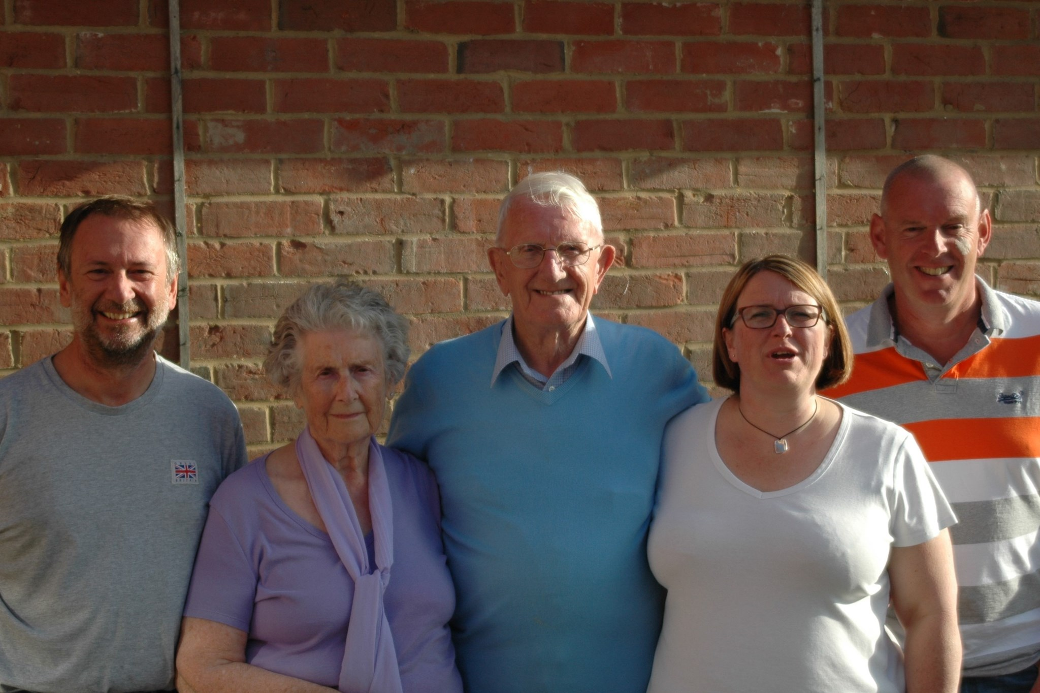 Eileen and Immediate family 2 - better of Phil, worse of Pam - sorry!