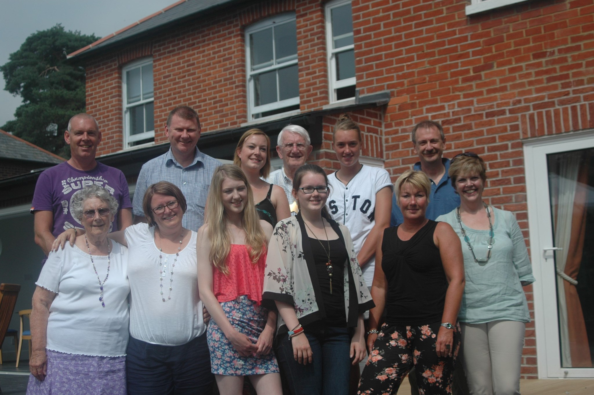 Family gathering for Neil's 85th