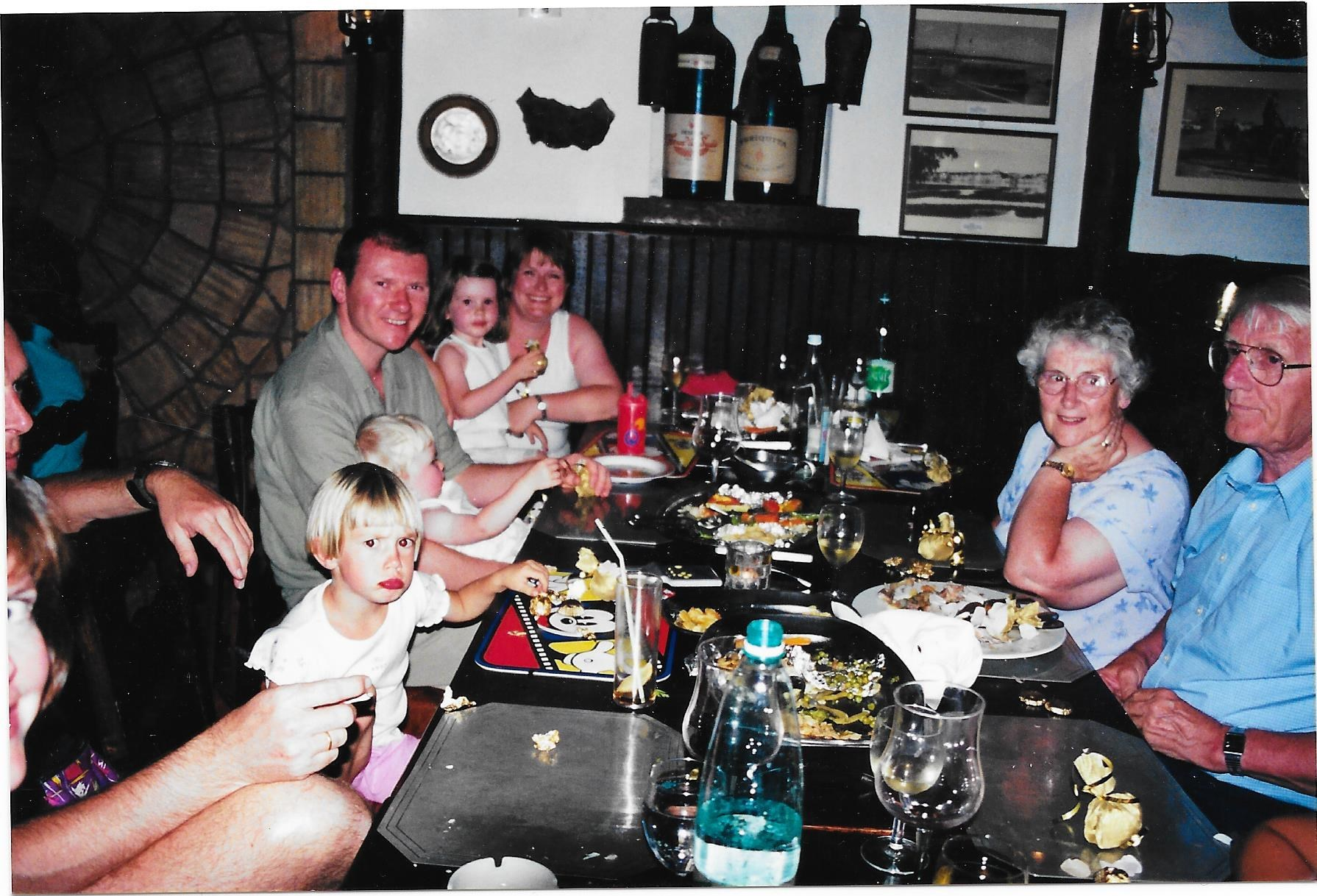 Family Holiday in Portugal for Eileen and Neil's 50th Wedding Anniversary