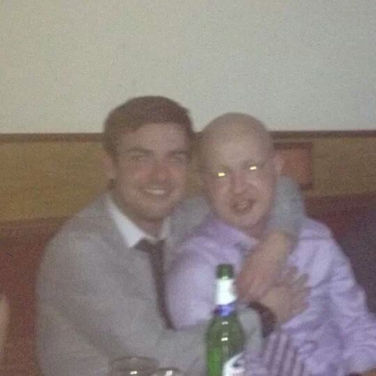 Fighter to the end. Top man mate! RIP x