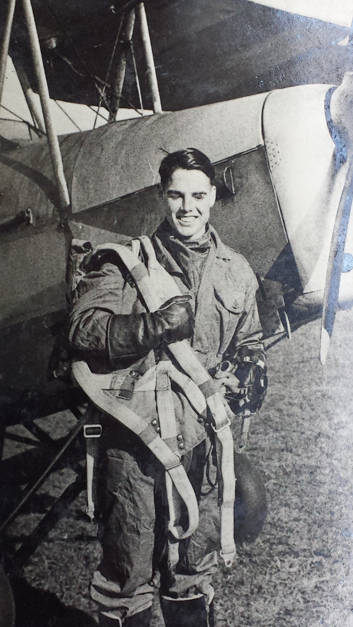 Dad learned to fly civilian aeroplanes, then became a Tiger Moth and jet pilot in the RAF
