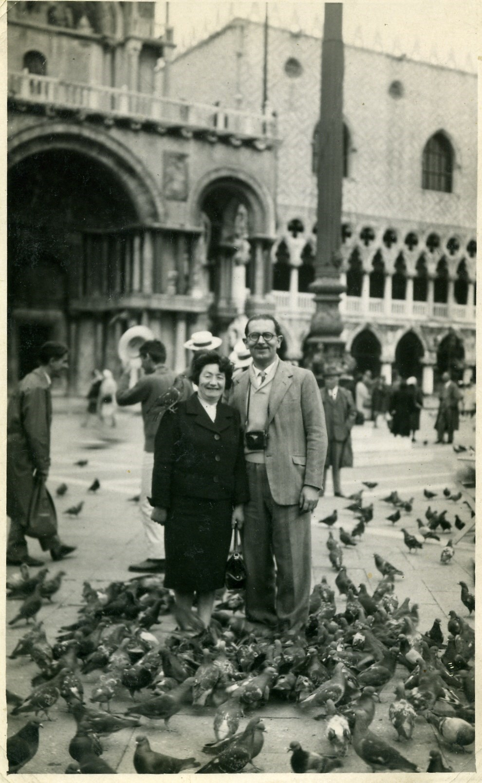 1959 bernard and bertha in venice