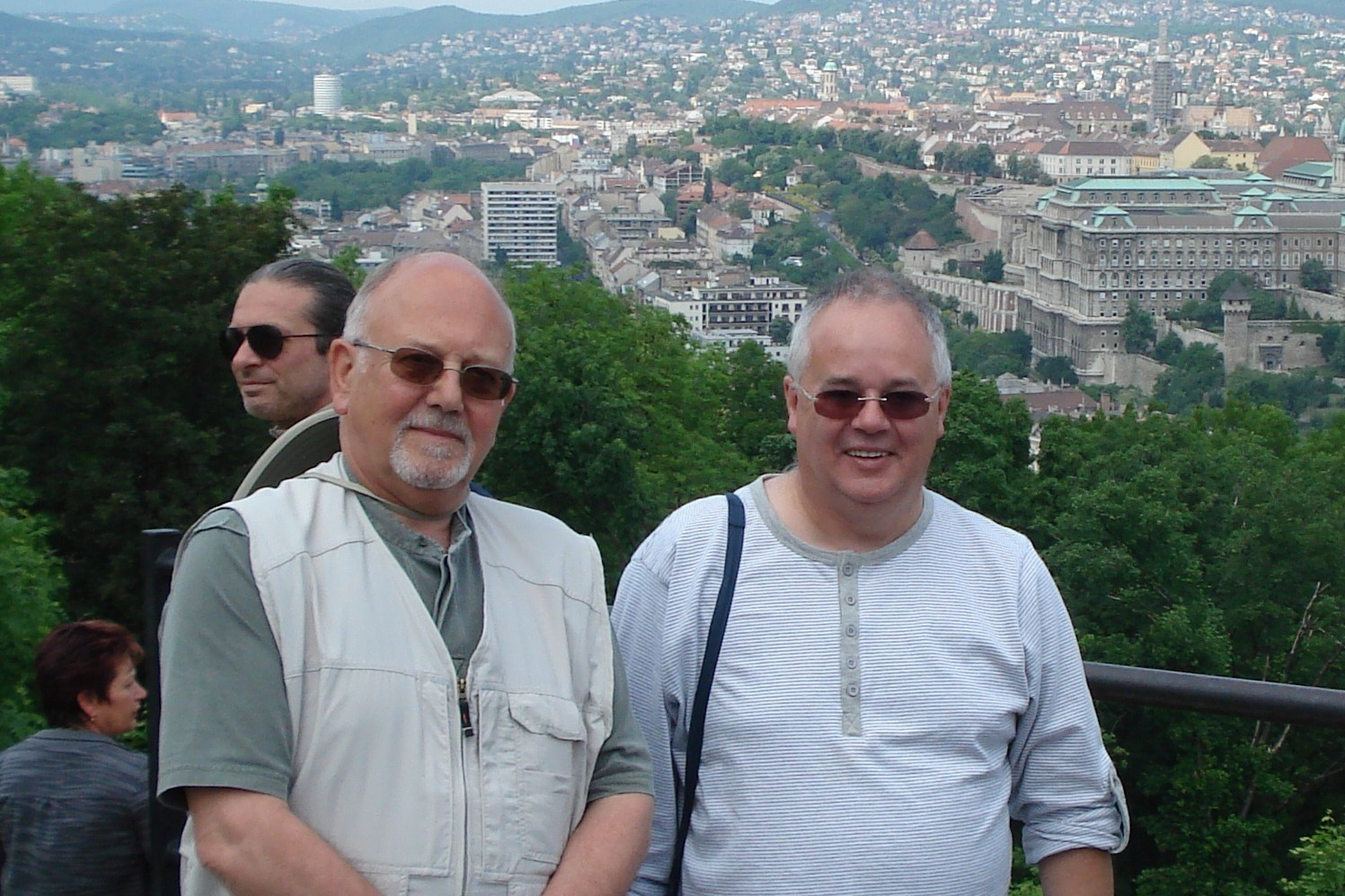 Kingey & Doughie hitting the heights in Budapest; my first WISC trip with the lads