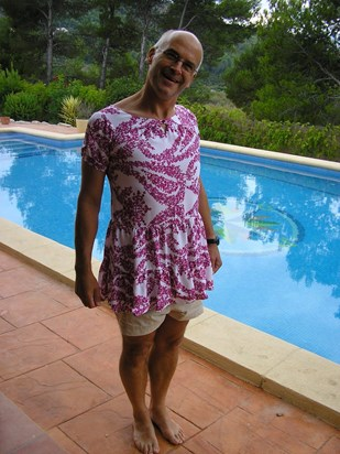 Dad in Dress!