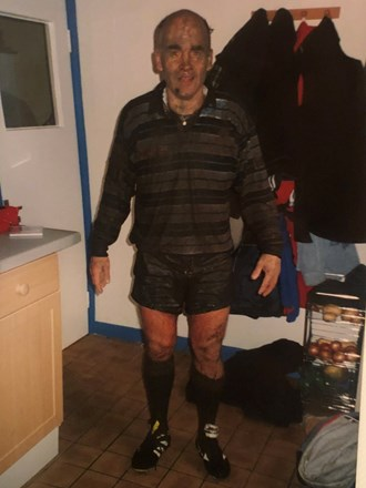 Muddy Boxing Day Match with Bakewell Mannerians