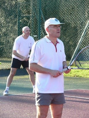 paul & bro competing against their sons Pete & Rich