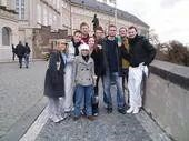 The group in Prague