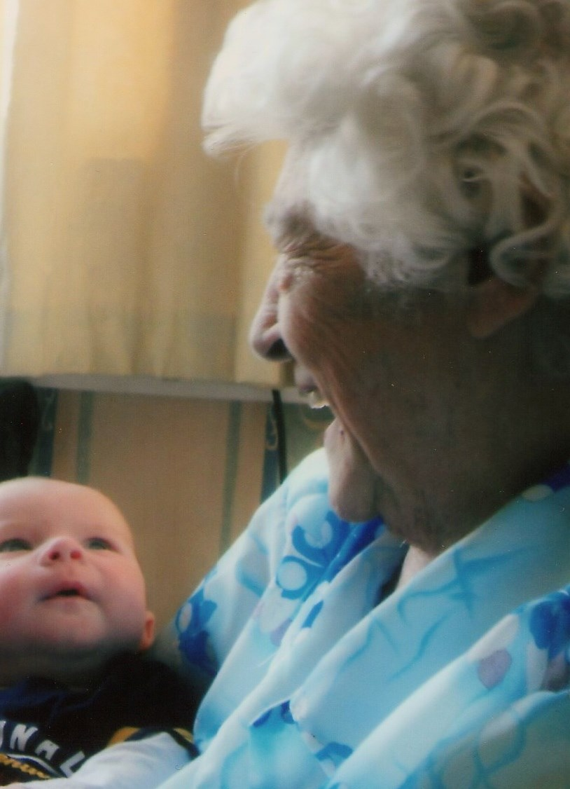 Mum and Great Grandson Anderson 2012