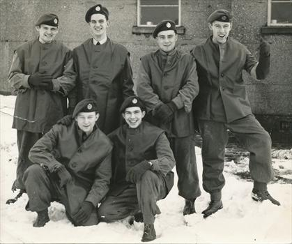 Jim (back row far right)