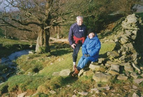 Jim and Peggy in the Lakes