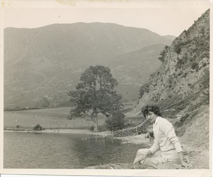 Peggy in The Lakes, 1959