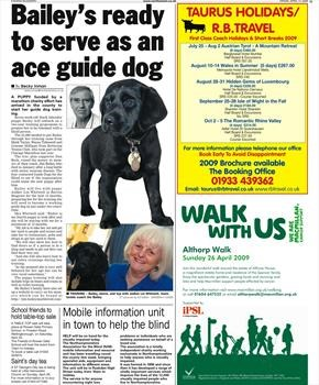 Bailey the Guide Dog