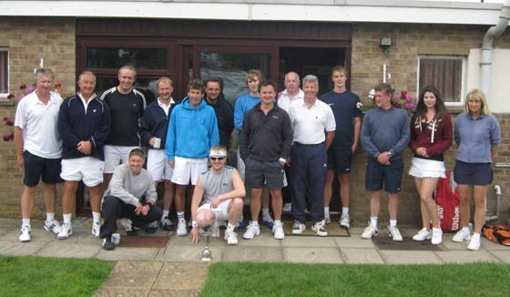 Jim Bailey Cup Oundle Tennis Club 2011 Competitors