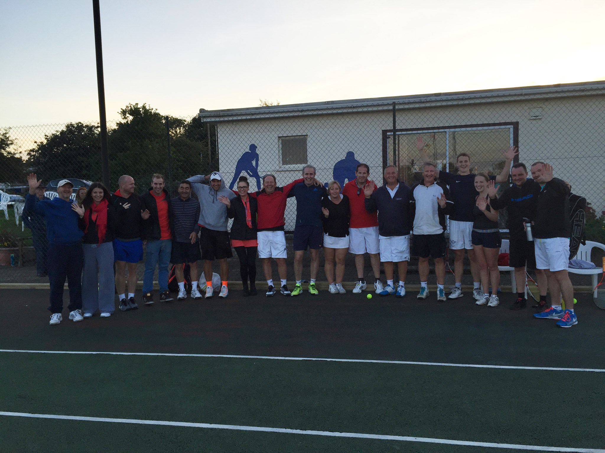 Oundle Tennis Men's (!) Tournament September 2015 in memory of Jim