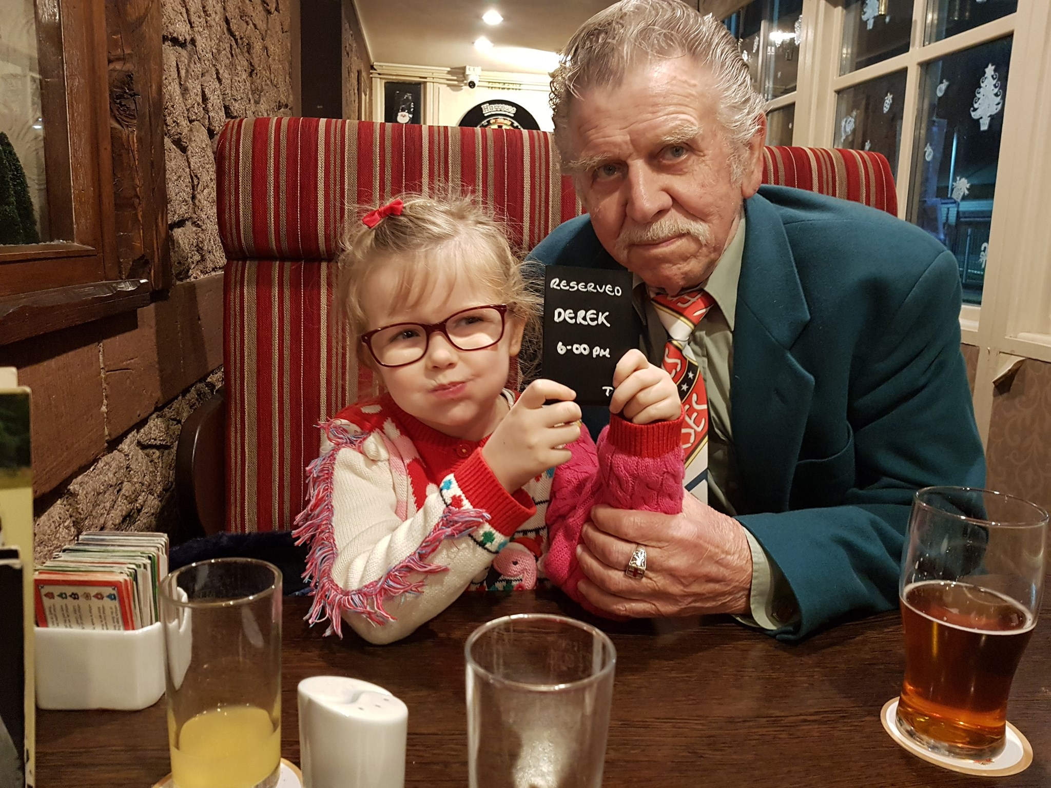 Christmas 2018 in the Ratty with Amelia