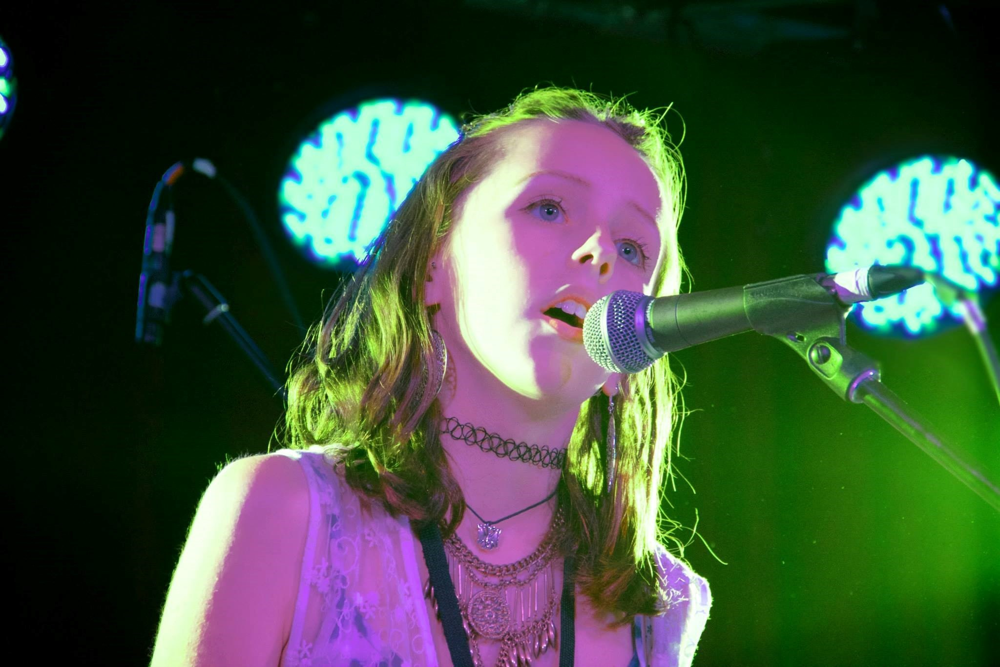 Alice singing Skinny Love at Battle of the Bands