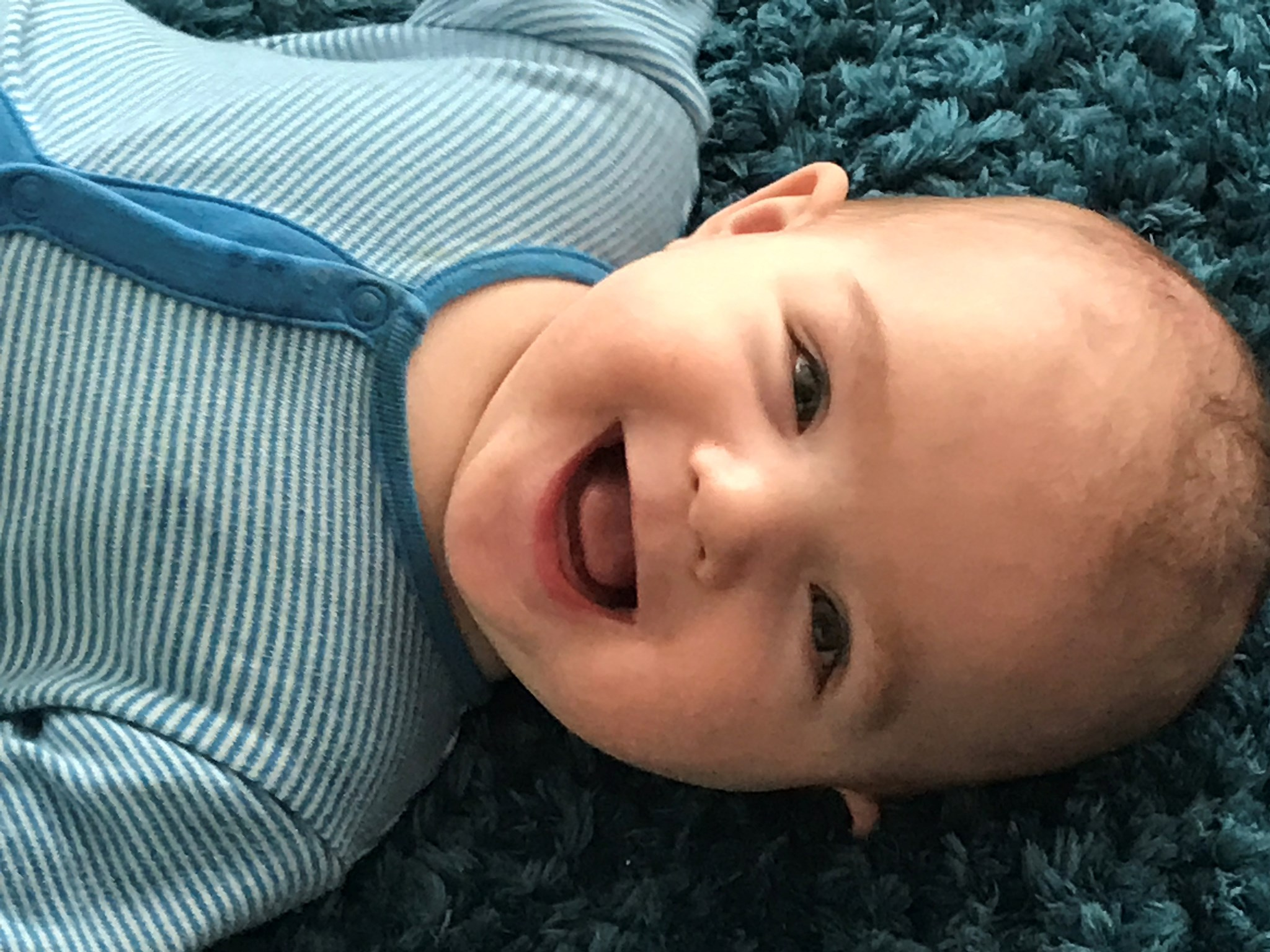 Our ever smiley Max