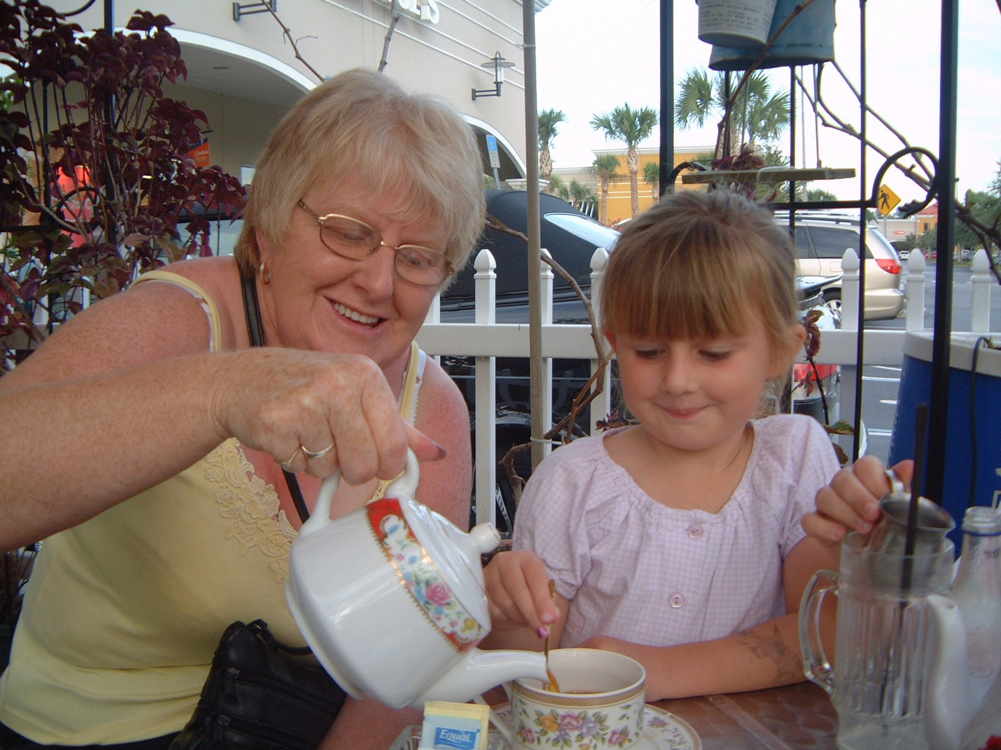 Cup of tea with Nanny ??