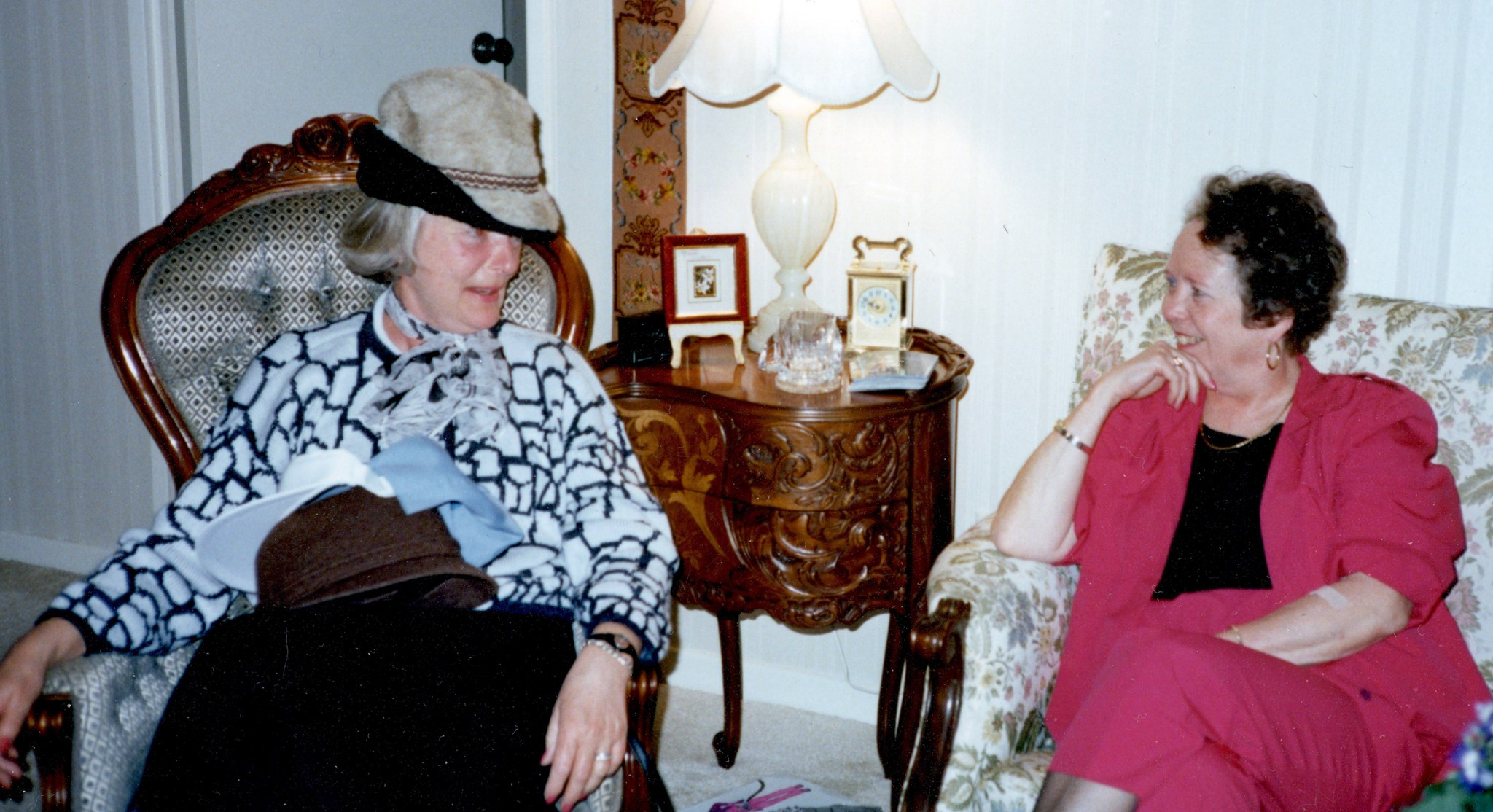 Jill and Jane Tilley, 1990, Thornhill, Canada