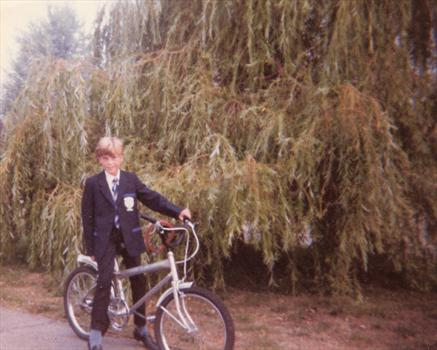 September 1983 - Paul's first day at High School