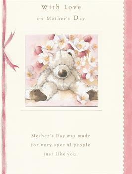 My treasured 'Mother's Day' card from Paul - 22nd March 2009