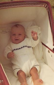 Paul - four months old - July 1972