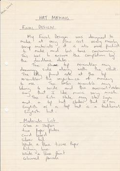 September 1994 - Paul's college assignment (page 4)
